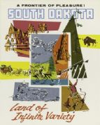 Vintage South Dakota Travel Poster